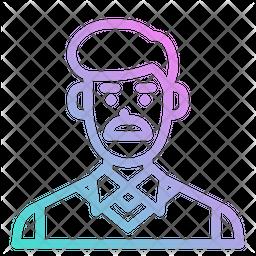 Dad Glyph Icon
