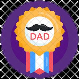 Dad Badge Icon
