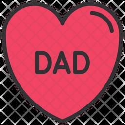 Dad love Icon