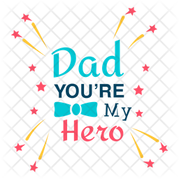 Dad Love Logo Icon