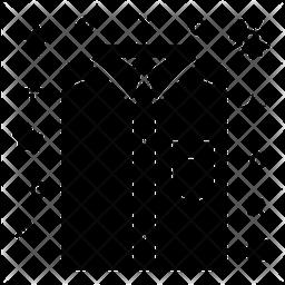 Dad Shirt Glyph Icon