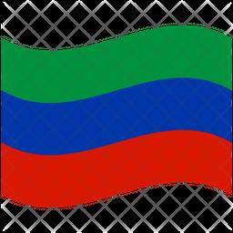 Dagestan Flag Icon