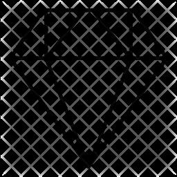 Daimond Line Icon
