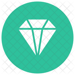 Daimond Glyph Icon