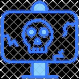 Danger Board Dualtone Icon