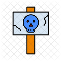 Danger Signboard Icon