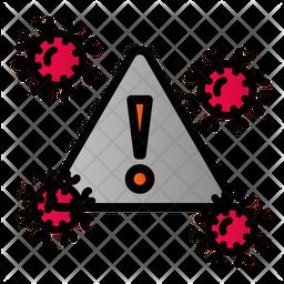 Danger Virus Icon