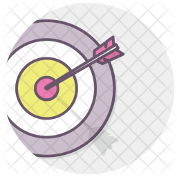 Dart, Target, Office, Goal, Plan, Achieve Icon
