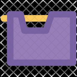 Data Colored Outline Icon