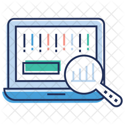 Data Analysis Colored Outline Icon