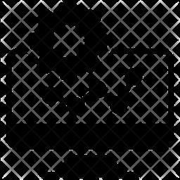 Data Analysis Glyph Icon