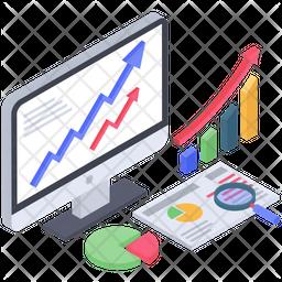 Data Analysis Chart Icon