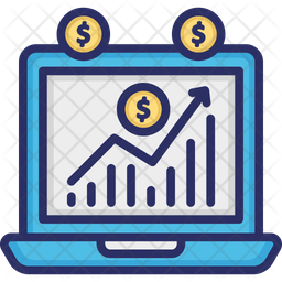 Data Analytics Colored Outline Icon