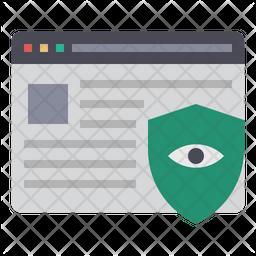 Data Breaches Protection Icon