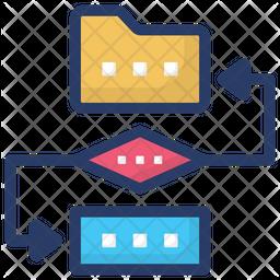 Data Conversion Icon
