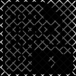 Data Encryption Glyph Icon