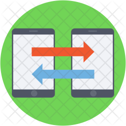 Data Exchanging Icon png