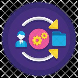 Data Folder Manager Icon