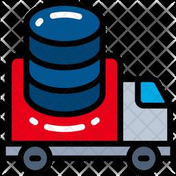 Data In Transit Icon