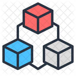 Data interconnected Icon