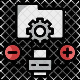 Data Printing Icon