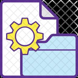 Data Processing Icon