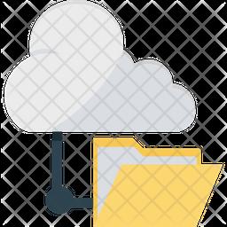 Data Share Flat Icon