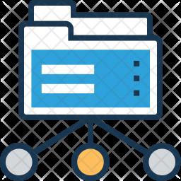 Data Share Icon