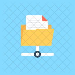Data Sharing Flat Icon