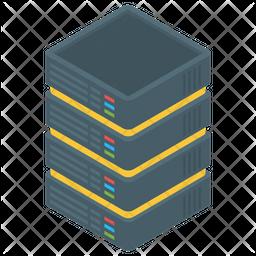 Data Storage Isometric Icon