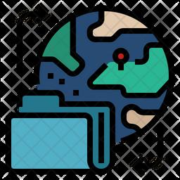Data Transfer Outside Eu Icon