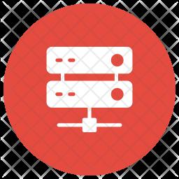Database Glyph Icon