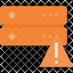 Database alert Icon