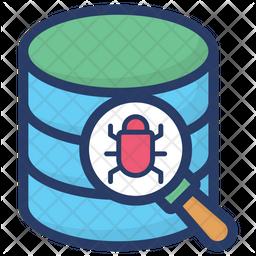 Database Bug Tracking Icon