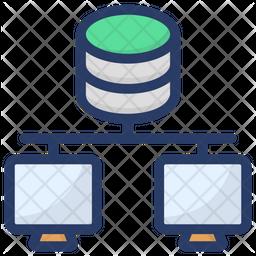 Database Hosting Icon