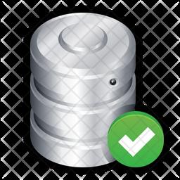 Database ok Icon