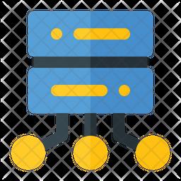 Database Sharing Icon