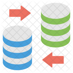 Database Transformation Icon
