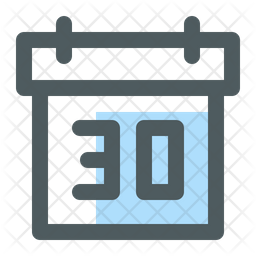 Date Icon Of Colored Outline Style Available In Svg Png Eps Ai Icon Fonts