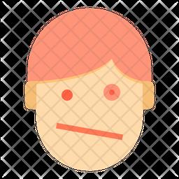 Dazed Emoji Icon