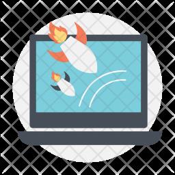 DDOS Attack Icon