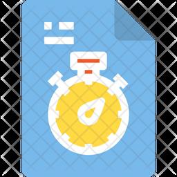 Deadline file Icon