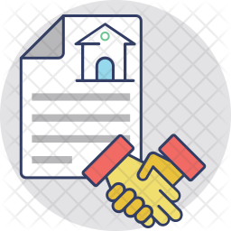 Deal Colored Outline Icon