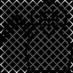Death Line Icon