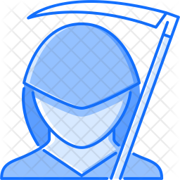 Death Colored Outline Icon