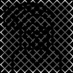 Death Scythe Line Icon