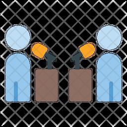 Debate Contest Icon