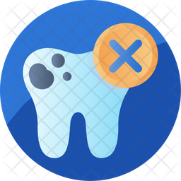 Decayed teeth Icon