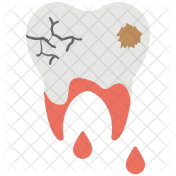 Decayed Tooth Icon