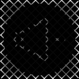 Decrease Volume Glyph Icon